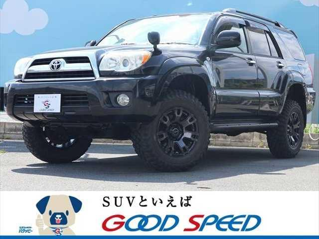 トヨタ ハイラックスサーフ SSR-G RAYS/デイトナ/FDX-F7S 4WD マッドテレンタイヤ リフトUP 純正HDDナビ ルーフレール リアスポイラー オートライト デフロック AC100V フォグランプ バックカメラ