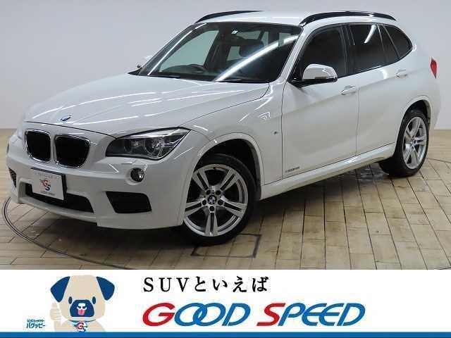 BMW X1 xDrive 28i Mスポーツ 4WD ストラーダSDナビTV HIDヘッドライト ETC アドバンスドキー 18インチAW パワーシート プッシュスタート