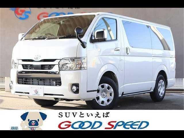 トヨタ スーパーGL ダークプライムII 両側パワースライドドア デジタルインナーミラー 4WD ディーゼル コンビハンドル ハーフレザーシート リアヒーター リアエアコン オートエアコン 助手席エアバック LEDヘッドライト