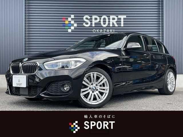 BMW 1シリーズ 118d MSport 純正ナビ バックモニター Bluetoothオーディオ コンフォートパッケージ ワンオーナー アダプティブクルーズコントロール 衝突軽減ブレーキ LEDヘッドライト 純正17インチアルミ ETC車載器