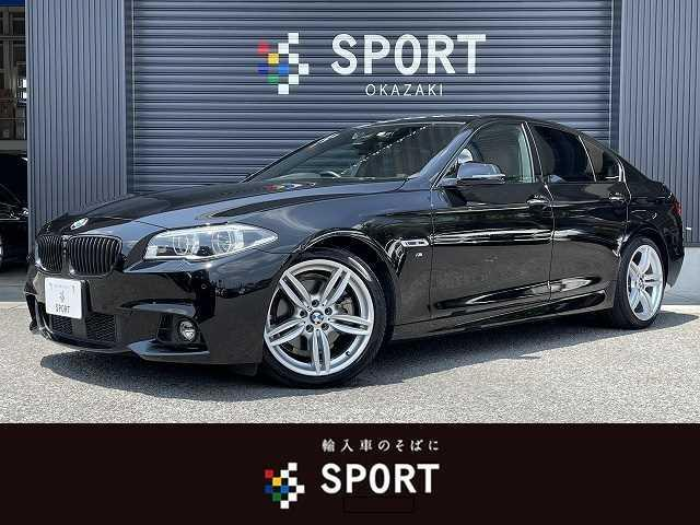BMW 5シリーズ 523d M Sport ハイラインPKG 純正HDDナビ サンルーフ インテリジェントセーフティ ブラウンレザーシート メモリ付きパワーシート コンフォートアクセス LEDヘッドライト 純正19インチアルミ フォグランプ ETC車載器