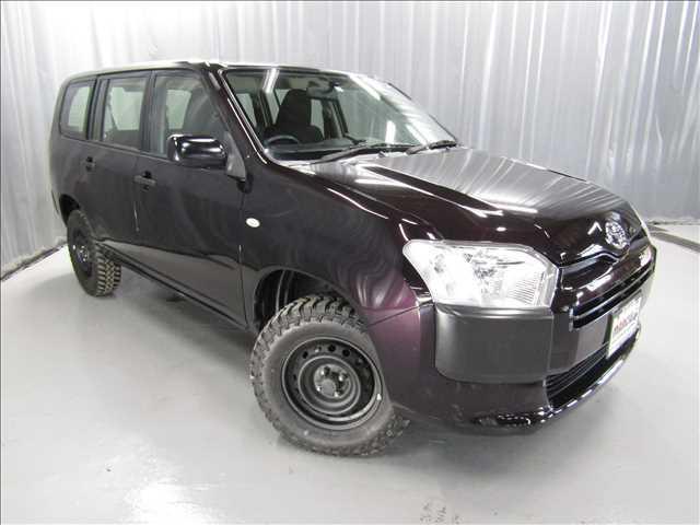 トヨタ プロボックス DXコンフォート 4WD 2インチリフトUP 新品マッドタイヤ スチールホイール ナビ ETC 運転席パワーウインドウ 4ナンバー登録