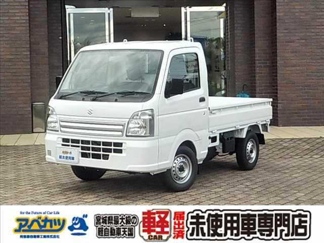 スズキ キャリイトラック KCエアコン・パワステ 届出済未使用 4WD 5速マニュアル 軽トラ