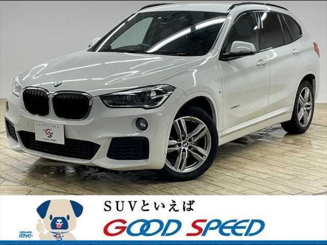 BMW X1 xDrive 18d Mスポーツ 4WD メーカーナビ バックカメラ インテリジェントセーフティー パークディスタンスコントロール パワーバックドア アドバンスドキー プッシュスタート ディーゼル ETC 18インチAW