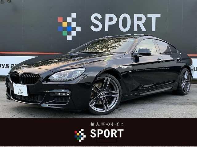 BMW 640iグランクーペ Mスポーツ チルトルーフ OP20インチアルミ ブラックキドニーグリル 黒革シート パワーシート シートヒーター メーカー純正ナビ バックモニター フルセグTV付き