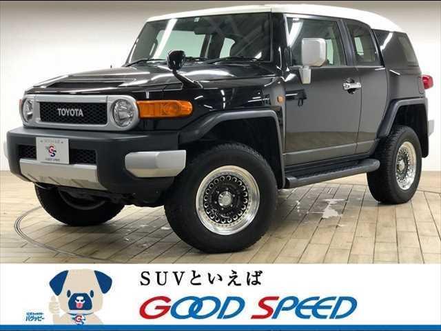 トヨタ FJクルーザー ベース 4WD ジオランダーA/T リフトアップ クリアランスソナー 純正SDナビ フルセグTV バックカメラ 17インチAW