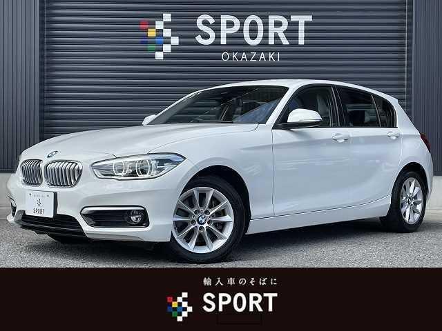 BMW 118d Style 後期モデル 純正HDDナビ コンフォートアクセス LEDヘッドライト Bluetoothオーディオ バックカメラ 衝突軽減ブレーキ クルーズコントロール クリアランスソナー ハーフレザーシート ETC