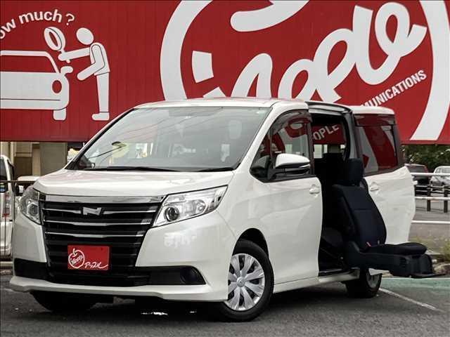 トヨタ  サイドリフトアップシート装着車 X 7人 純正ナビ ETC パワースライドドア 福祉車両