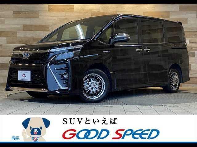 トヨタ ハイブリッドZS 煌II 純正型ナビTV バックカメラ フリップダウンモニター ETC 両側電動ドア シートヒーター スマートキー LEDヘッド 7人