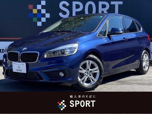 BMW 218dアクティブツアラー 当店下取り車 メーカー純正ナビ バックモニター クリアランスソナー スマートキー プッシュスタート
