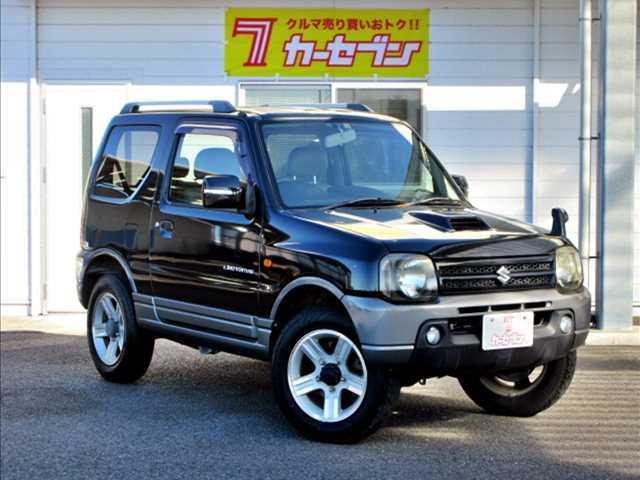 スズキ ランドベンチャー ユーザー買取車/4WD/ターボ/純正CDオーディオ/キーレスキー/ETC/純正16インチAW/運転席シートヒーター/電格ウインカーミラー/フォグランプ/ルーフレール/背面タイヤ