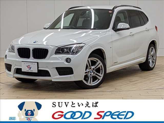 BMW X1 xDrive 28i Mスポーツ 純正ナビ バックカメラ ETC HID 電子シフト ブルートゥース コンフォートアクセス 後期モデル HIDヘッド 純正アルミ 245ps パークディスタンスコントロール