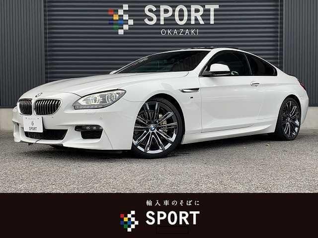 BMW 640i M Sport サンルーフ 純正ナビ 純正20インチAW クルーズコントロール フルセグ Bluetoothオーディオ メモリ付きパワーシート クリアランスソナー パドルシフト LEDヘッドライト ETC車載器