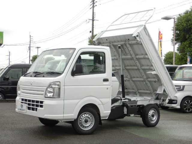 スズキ 金太郎ダンプ 4WDキャビン一体型アングルポスト