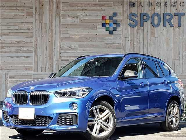 BMW X1 xDrive18d M Sport 4WD インテリジェントセーフティ ETC クリアランスソナー Mスポーツ専用カラー Mスポーツ専用設計シート コンフォートアクセス Bluetooth接続 CD/DVD再生 アイドリングストップ