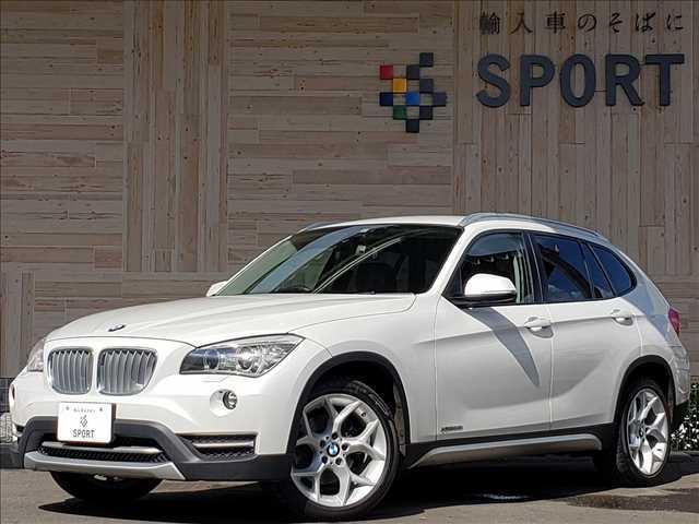 BMW X1 xDrive20i xLine ブラックレザーシート 純正HDDナビ シートヒーター バックカメラ コンフォートアクセス ミラー一体型ETC アイドリングストップ HIDヘッドライト プッシュスタート スマートキー iDrive