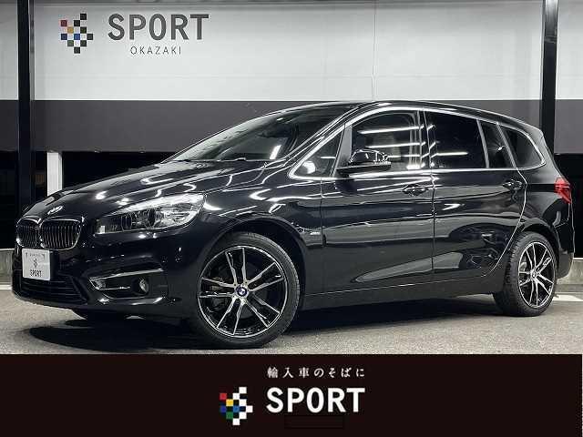 BMW 218dグランツアラー ラグジュアリー ホワイトレザーシート 純正ナビ バックモニター アダプティブクルーズコントロール パワーテールゲート メモリ付きパワーシート シートヒーター コンフォートアクセス パドルシフト LEDヘッドライト