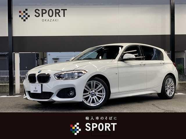 BMW 1シリーズ 118d Mスポーツ 後期モデル 純正ナビ クルーズコントロール Bluetoothオーディオ LEDヘッドライト プッシュスタート アイドリングストップ 純正17インチアルミ スポーツモード ミラー一体型ETC車載器