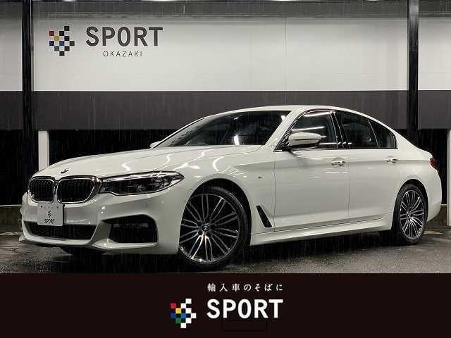 BMW 523d M Sport RHD 純正ナビ アダプティブクルーズコントロール レーンチェンジウォーニング メモリ付きパワーシート パワーテールゲート レーンキープアシスト Bluetoothオーディオ クリアランスソナー LEDヘッド