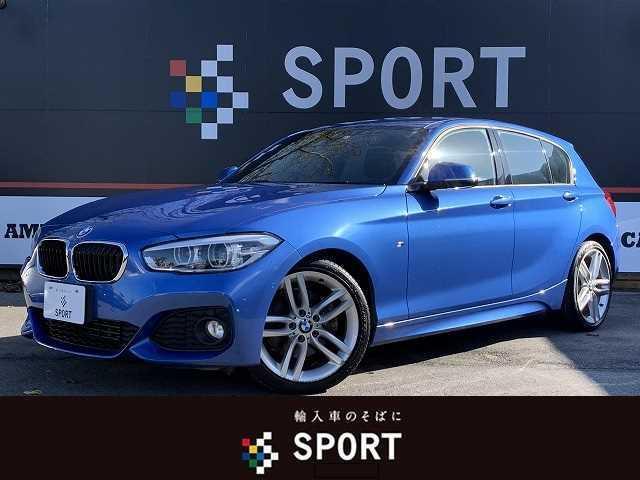 BMW 118i Mスポーツ 当店下取り車 スマートキー プッシュスタート メーカー純正ナビ バックモニター クリアランスソナー OP18インチアルミ