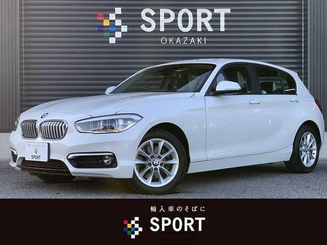 BMW 118d Style 純正ナビ レーンキープアシスト 衝突軽減ブレーキ ハーフレザーシート LEDヘッドライト クリアランスソナー フォグランプ ミラー一体型ETC車載器 Bluetoothオーディオ アイドリングストップ