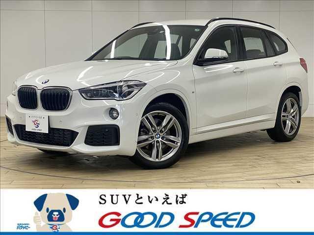 BMW X1 xDrive 18d Mスポーツ 純正ナビ バックカメラ パークディスタンス アクティブクルコン 電動リアゲート LEDヘッドライト メモリー付きパワーシート パドルシフト ETC ステアリングリモコン ブルートゥース 本革シート