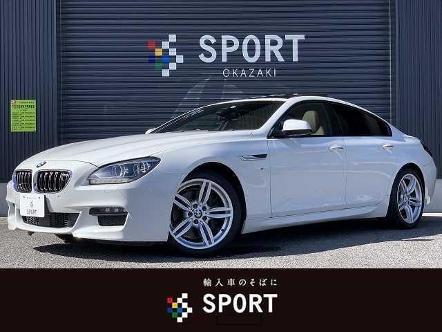 BMW 650iクーペ Mスポーツパッケージ サンルーフ ブラウンレザーシート  純正ナビ メモリ付きパワーシート シートヒーター アダプティブクルーズコントロール レーンキープアシスト 衝突軽減ブレーキ LEDヘッドライト 純正19インチアルミ
