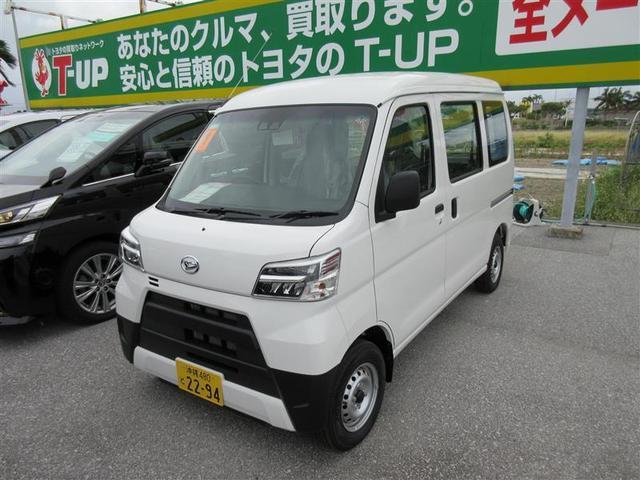 沖縄の中古車 ダイハツ ハイゼットカーゴ 車両価格 110万円 リ済別 2019(令和1)年 10km ホワイト