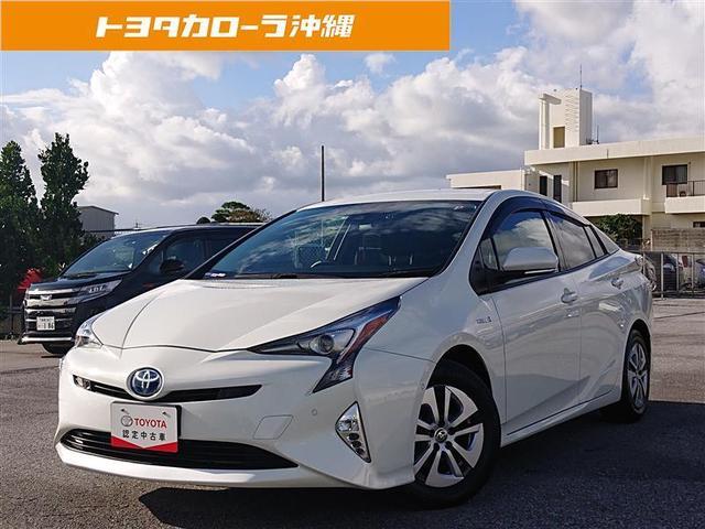 沖縄県の中古車ならプリウス A 衝突被害軽減システム 記録簿
