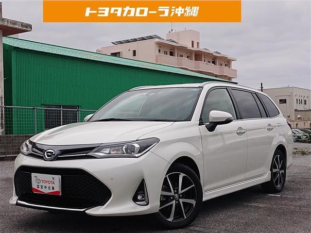 沖縄県うるま市の中古車ならカローラフィールダー 1.5G ダブルバイビー 記録簿