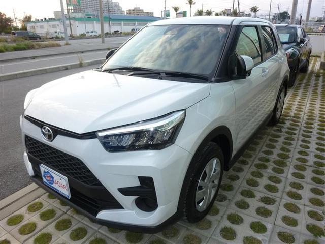 沖縄の中古車 トヨタ ライズ 車両価格 187万円 リ済別 2020(令和2)年 0.3万km パールマイカ