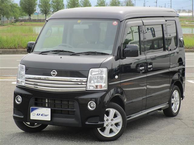 日産 G 4WD 両側電動スライド ミュージックプレイヤー接続可 HIDヘッドライト ワンオーナー キーレス 盗難防止装置 乗車定員4人 ABS エアバッグ オートマ