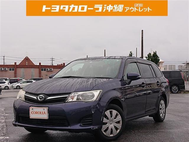 沖縄の中古車 トヨタ カローラフィールダー 車両価格 63万円 リ済別 2012(平成24)年 6.5万km ムラサキ