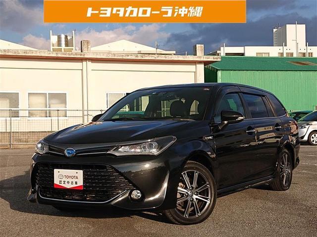 沖縄の中古車 トヨタ カローラフィールダー 車両価格 129万円 リ済別 2016(平成28)年 8.8万km クロ