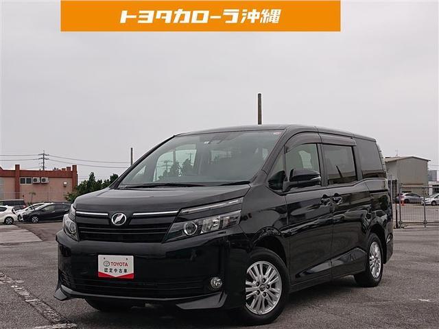 沖縄県の中古車ならヴォクシー V ミュージックプレイヤー接続可 バックカメラ ETC 両側電動スライド LEDヘッドランプ 乗車定員7人 3列シート