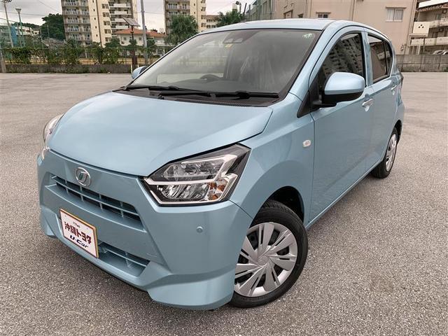 沖縄の中古車 ダイハツ ミライース 車両価格 113.3万円 リ済別 2020(令和2)年 9km スカイブルーメタリック