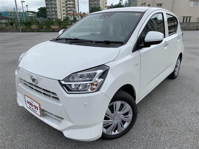 沖縄の中古車 ダイハツ ミライース 車両価格 108万円 リ済別 2019(令和1)年 9km パールホワイト3