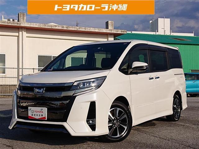 沖縄県の中古車ならノア Si ダブルバイビーII 衝突被害軽減システム 乗車定員8人 記録簿
