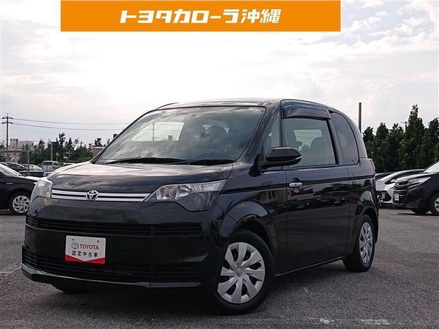 沖縄の中古車 トヨタ スペイド 車両価格 78万円 リ済別 2015(平成27)年 4.1万km ブラックマイカ
