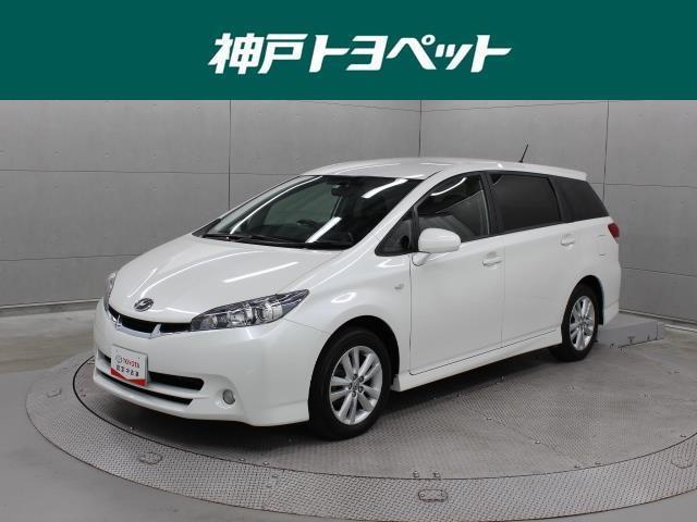 トヨタ 1.8S フルセグ HDDナビ DVD再生 ETC HIDヘッドライト 乗車定員7人 3列シート ワンオーナー