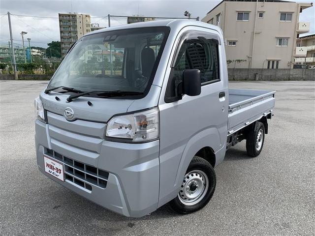 沖縄の中古車 ダイハツ ハイゼットトラック 車両価格 95万円 リ済別 2020(令和2)年 0.4万km ブライトシルバーM
