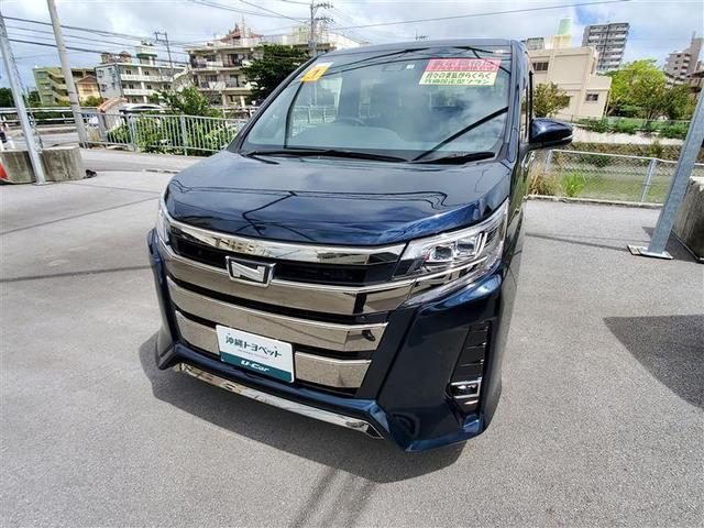 沖縄の中古車 トヨタ ノア 車両価格 262万円 リ済別 2019(令和1)年 0.2万km アオ