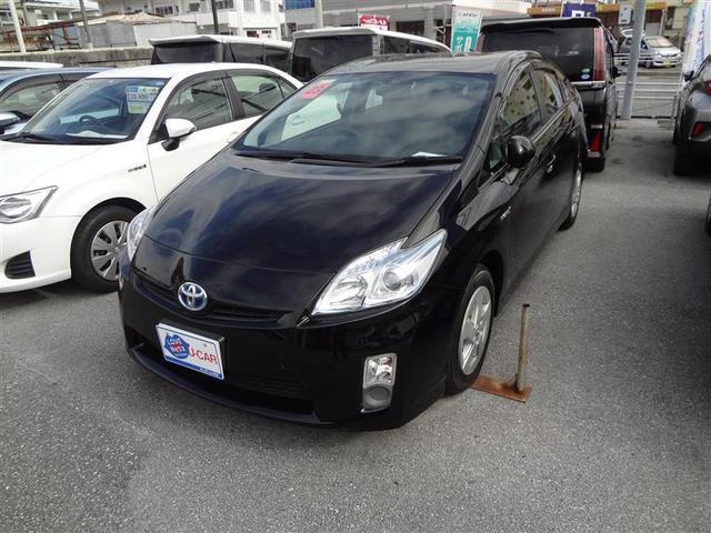 沖縄の中古車 トヨタ プリウス 車両価格 71.5万円 リ済別 2011(平成23)年 8.9万km クロ