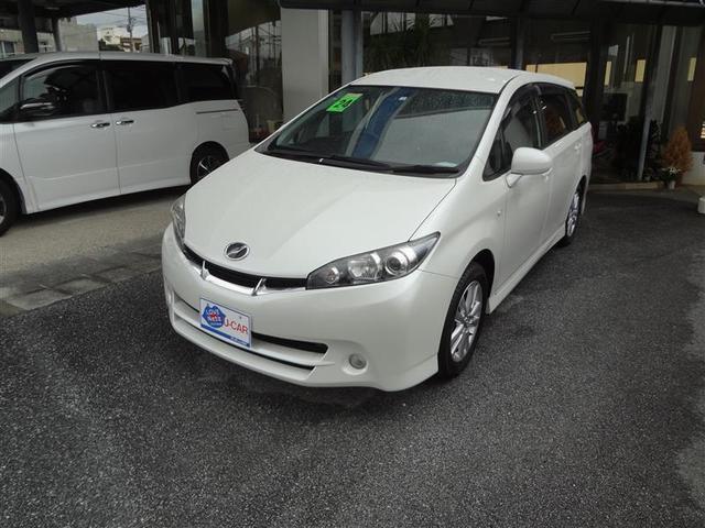 沖縄の中古車 トヨタ ウィッシュ 車両価格 88万円 リ済別 2012(平成24)年 8.4万km パールマイカ