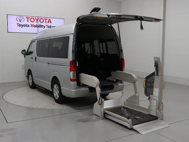 トヨタ DX フクシシャリョウ 福祉車両 3列シート 記録簿 乗車定員10人 キーレス