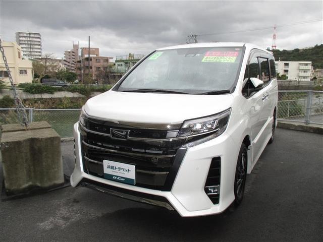 沖縄県の中古車ならノア Si ダブルバイビーII ワンセグ メモリーナビ バックカメラ ETC 両側電動スライド LEDヘッドランプ 乗車定員8人 フルエアロ 記録簿