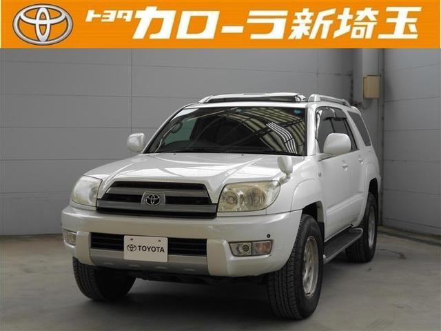 トヨタ SSR-G サンルーフ 4WD DVDナビ バックカメラ