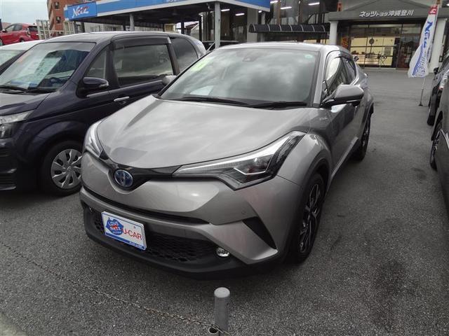 沖縄の中古車 トヨタ C-HR 車両価格 247.5万円 リ済別 2019(平成31)年 2.3万km グレー