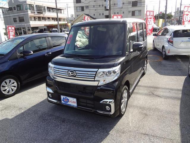 沖縄の中古車 ダイハツ タント 車両価格 121万円 リ済別 2016(平成28)年 3.2万km クロ