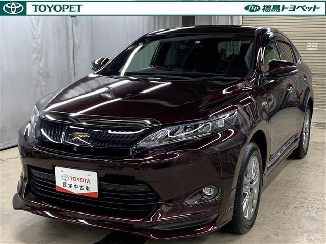 「トヨタ」「ハリアーハイブリッド」「SUV・クロカン」「福島県」の中古車